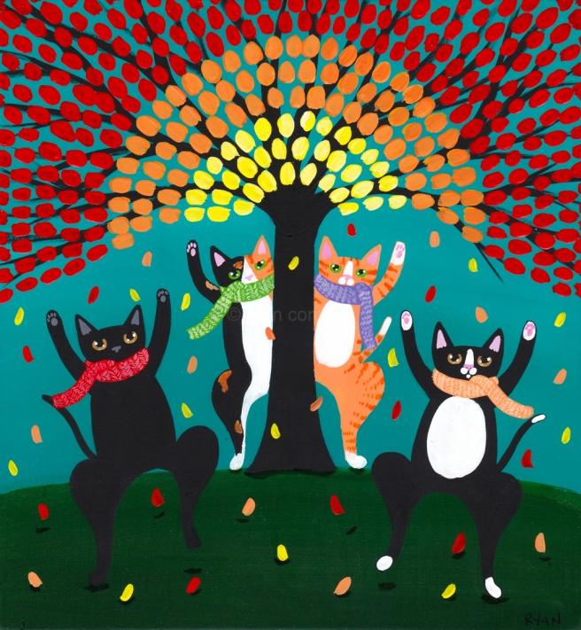Image result for folkart by kilkenny cat