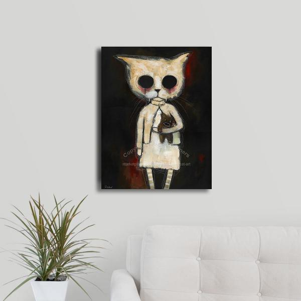 16 x 20 spooky